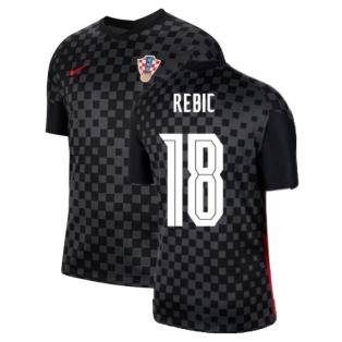 2020-2021 Croatia Away Nike Football Shirt (REBIC 18)