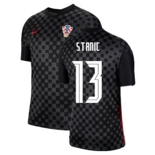 2020-2021 Croatia Away Nike Football Shirt (STANIC 13)