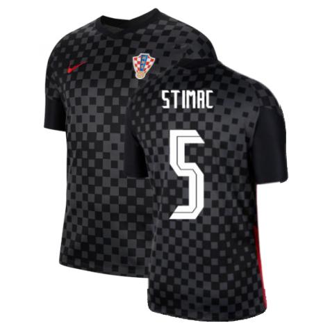 2020-2021 Croatia Away Nike Football Shirt (STIMAC 5)