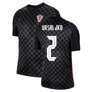 2020-2021 Croatia Away Nike Football Shirt (VRSALJKO 2)