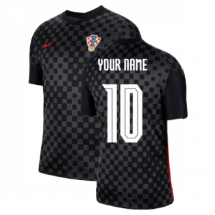 2020-2021 Croatia Away Nike Football Shirt (Your Name)