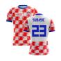 2020-2021 Croatia Home Concept Shirt (Subasic 23) - Kids
