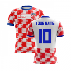 2020-2021 Croatia Home Concept Football Shirt