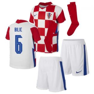 2020-2021 Croatia Home Mini Kit (BILIC 6)