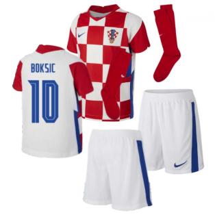 2020-2021 Croatia Home Mini Kit (BOKSIC 10)