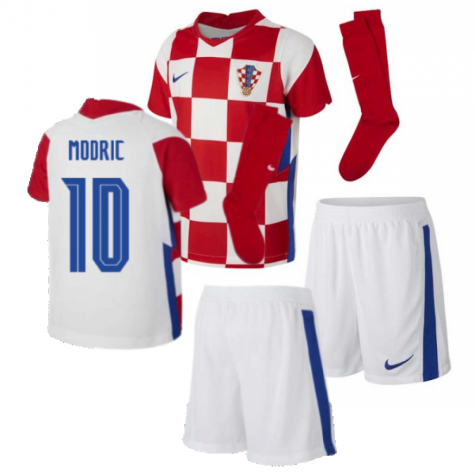 2020-2021 Croatia Home Mini Kit (MODRIC 10)