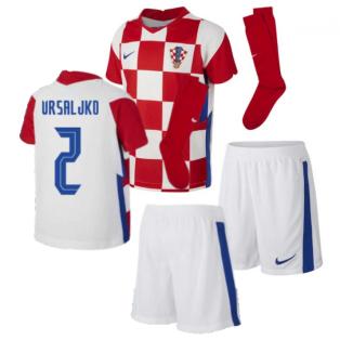 2020-2021 Croatia Home Mini Kit (VRSALJKO 2)