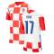 2020-2021 Croatia Home Nike Football Shirt (Kids) (REBIC 17)