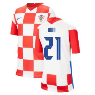 2020-2021 Croatia Home Nike Football Shirt (Kids) (VIDA 21)