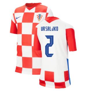 2020-2021 Croatia Home Nike Football Shirt (Kids) (VRSALJKO 2)