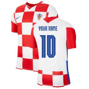 2020-2021 Croatia Home Nike Football Shirt (Your Name)