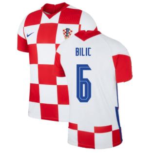 2020-2021 Croatia Home Nike Vapor Shirt (BILIC 6)