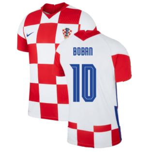 2020-2021 Croatia Home Nike Vapor Shirt (BOBAN 10)