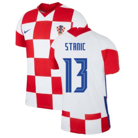 2020-2021 Croatia Home Nike Vapor Shirt (STANIC 13)