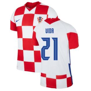 2020-2021 Croatia Home Nike Vapor Shirt (VIDA 21)