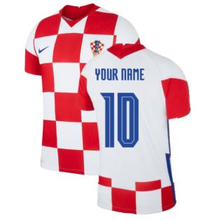 2020-2021 Croatia Home Nike Vapor Shirt (Your Name)