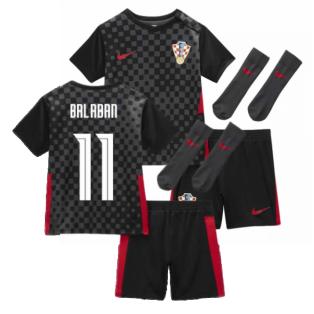 2020-2021 Croatia Little Boys Away Mini Kit (BALABAN 11)
