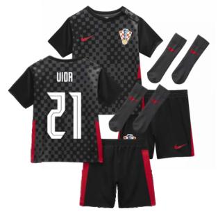 2020-2021 Croatia Little Boys Away Mini Kit (VIDA 21)