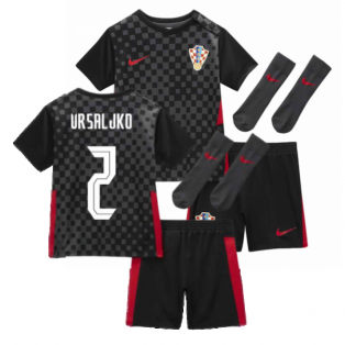 2020-2021 Croatia Little Boys Away Mini Kit (VRSALJKO 2)