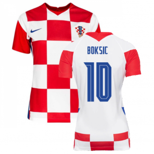 2020-2021 Croatia Womens Home Shirt (BOKSIC 10)
