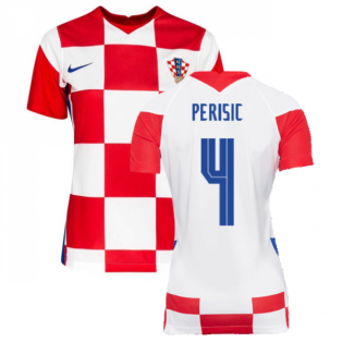 2020-2021 Croatia Womens Home Shirt (PERISIC 4)