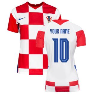 2020-2021 Croatia Womens Home Shirt (Your Name)