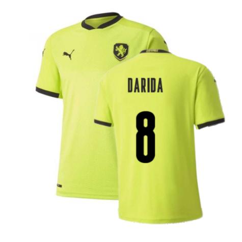 2020-2021 Czech Republic Away Puma Football Shirt (DARIDA 8)