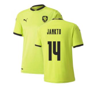 2020-2021 Czech Republic Away Puma Football Shirt (JANKTO 14)