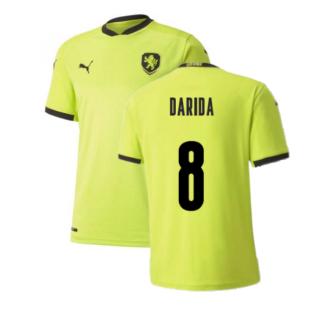 2020-2021 Czech Republic Away Puma Football Shirt (Kids) (DARIDA 8)