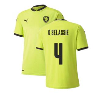 2020-2021 Czech Republic Away Puma Football Shirt (Kids) (G SELASSIE 4)