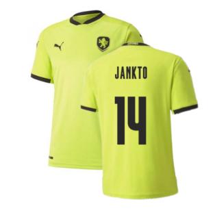 2020-2021 Czech Republic Away Puma Football Shirt (Kids) (JANKTO 14)