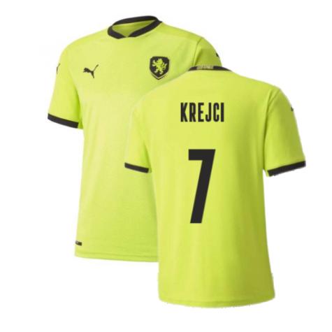 2020-2021 Czech Republic Away Puma Football Shirt (Kids) (KREJCI 7)