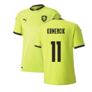2020-2021 Czech Republic Away Puma Football Shirt (Kids) (KRMENCIK 11)