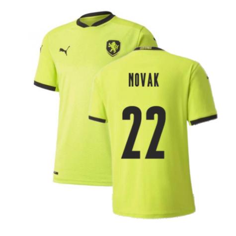 2020-2021 Czech Republic Away Puma Football Shirt (Kids) (NOVAK 22)