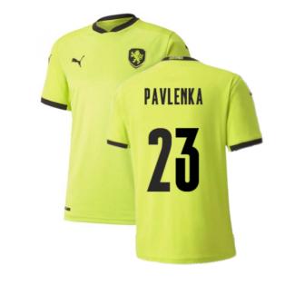 2020-2021 Czech Republic Away Puma Football Shirt (Kids) (PAVLENKA 23)