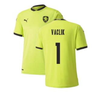 2020-2021 Czech Republic Away Puma Football Shirt (Kids) (VACLIK 1)