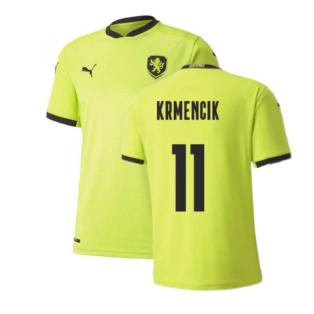 2020-2021 Czech Republic Away Puma Football Shirt (KRMENCIK 11)