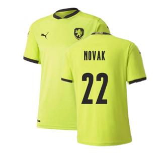 2020-2021 Czech Republic Away Puma Football Shirt (NOVAK 22)