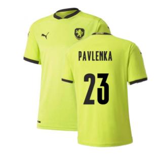 2020-2021 Czech Republic Away Puma Football Shirt (PAVLENKA 23)