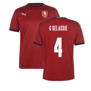 2020-2021 Czech Republic Home Shirt (G SELASSIE 4)