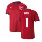 2020-2021 Czech Republic Home Shirt (Kids) (VACLIK 1)