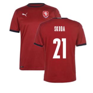 2020-2021 Czech Republic Home Shirt (SKODA 21)