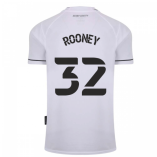 2020-2021 Derby County Home Football Shirt (ROONEY 32)