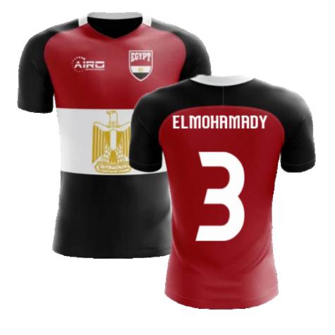 2020-2021 Egypt Flag Concept Football Shirt (ElMohamady 3) - Kids