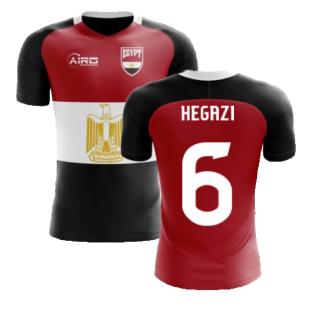 2020-2021 Egypt Flag Concept Football Shirt (Hegazi 6) - Kids
