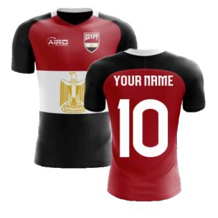 2020-2021 Egypt Flag Concept Football Shirt (Your Name)