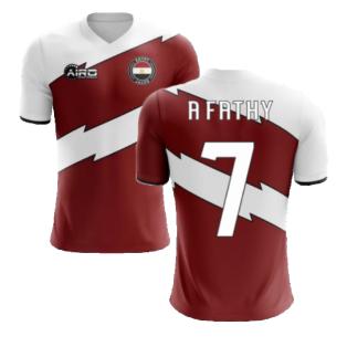 2020-2021 Egypt Home Concept Shirt (A Fathy 7) - Kids