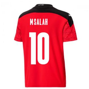 2020-2021 Egypt Home Shirt (Kids) (M.SALAH 10)
