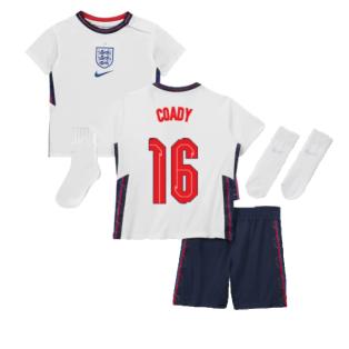 2020-2021 England Home Nike Baby Kit (Coady 16)