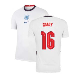 2020-2021 England Home Nike Football Shirt (Coady 16)